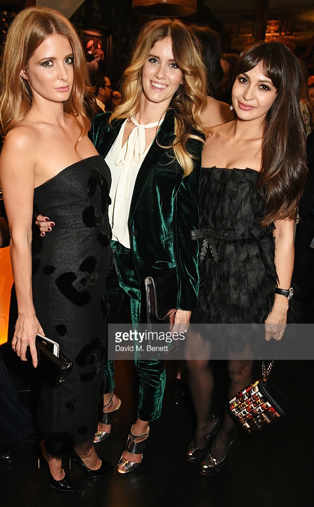 attends an after party following the screening of La Legende de La Palme d'Or at China Tang on November 25, 2015 in London, England.